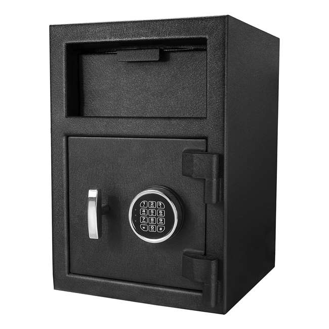 BARSKA-AX12588-OB Barska DX-200 Standard Solid Steel Depository Box Keypad Safe(Open Box)
