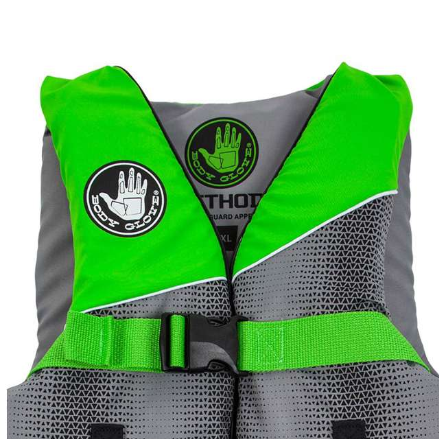 18243LXL Body Glove Method Size Large/Extra Large Life Vest, Green (2 Pack) 2
