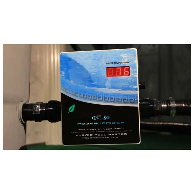 Main Access Power Ionizer Swimming Pool Sanitation System