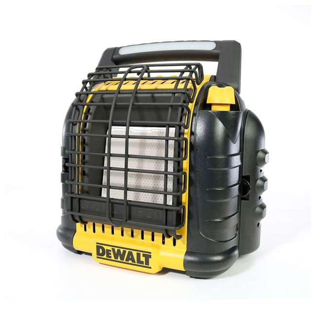 MH-F332000-U-C Dewalt 12,000 BTU Portable Cordless Heavy Duty Radiant Heater, Black (For Parts)
