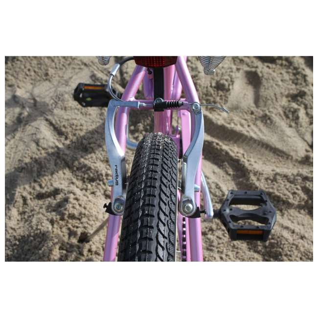 "14803 Firmstrong Urban Lady Women's 26"" 7-Speed Cruiser Bike, Pink 3"