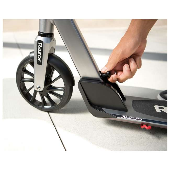 13013215 Razor A5 Prime Adult Scooter, Gunmetal Gray 4