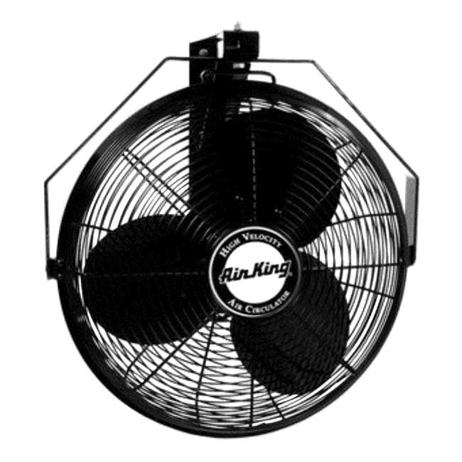 Industrial Air Fans : Air king inch industrial wall mount fan pack
