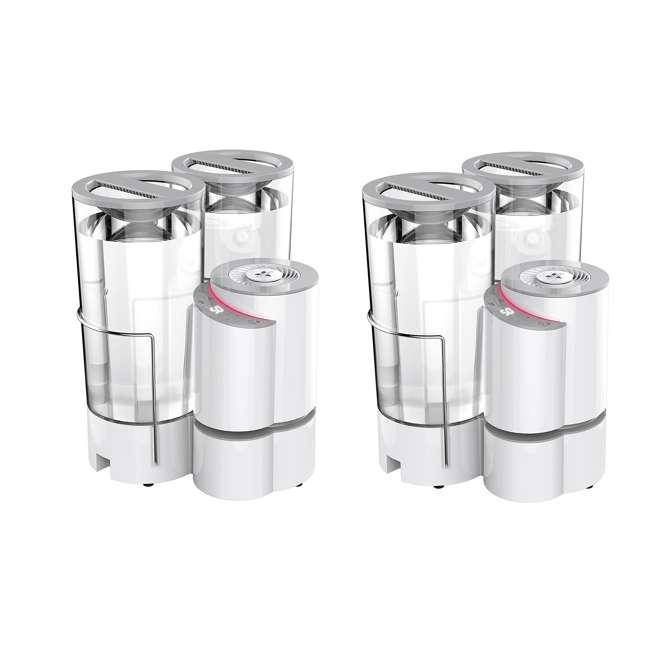 ELEMENT-A2 Vornado Element A2 2-Gallon Air + Steam Humidifier (2 Pack) 6