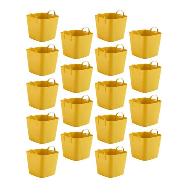 18 x Tub 25L Life Story 6.6-Gallon Storage Tote with Handles (18 Pack)