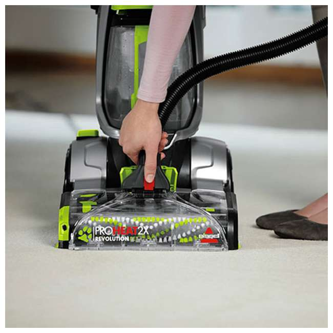 2007P_EGB-RB Bissell 2007P Pet Deluxe Proheat 2x Carpet Deep Cleaner (Certified Refurbished) 6