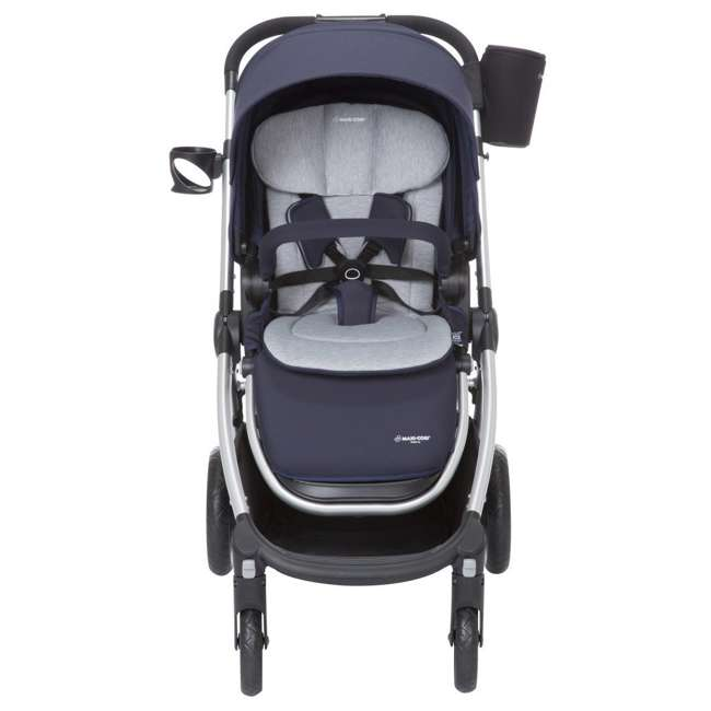 TR362CTD Maxi-Cosi Adorra Stroller and Car Seat Travel System, Brilliant Navy 5