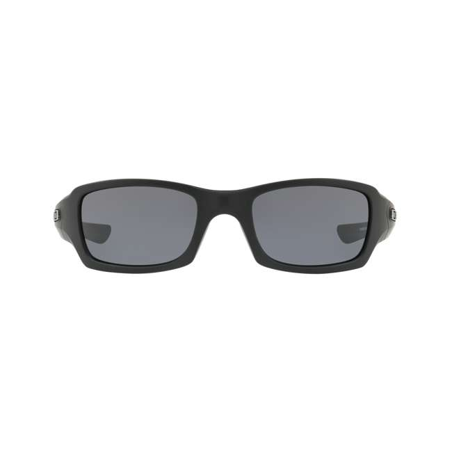 OO9238-3354 Oakley OO9238-3354 SI Fives Squared Flag Collection Sunglasses, MatteBlack/Grey  1