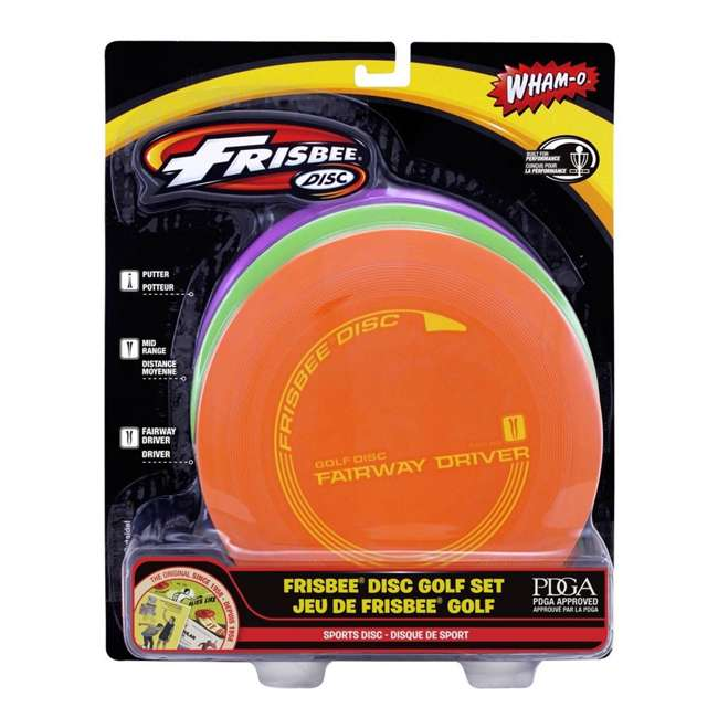 Wham O Frisbee Golf Starter Set 175g 53011