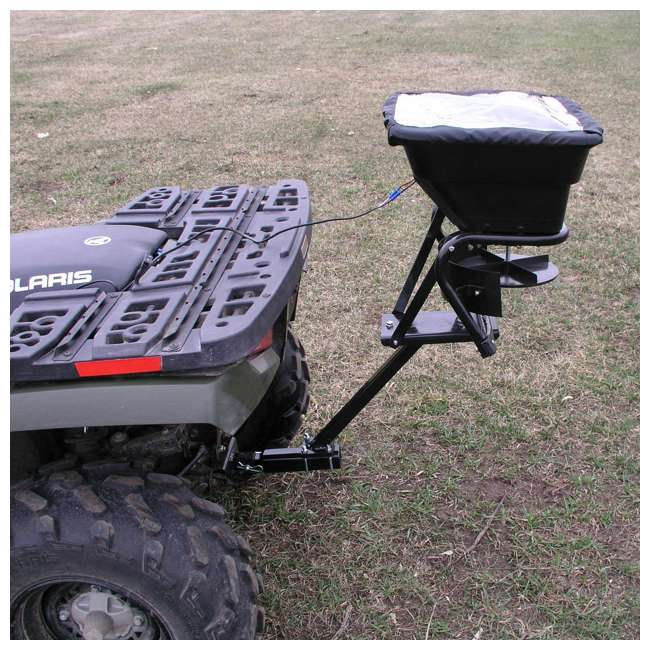 AS-80ATV12 Field Tuff ATV Hitch-Mount 80-Pound Seed and Fertilizer Spreader 1