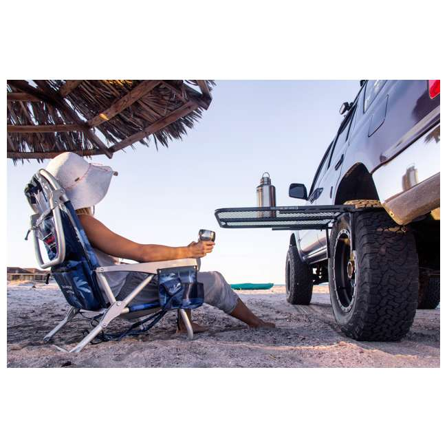 TGMESH Tailgater Tire Table Original Steel Tire-Mounted Folding Table 3