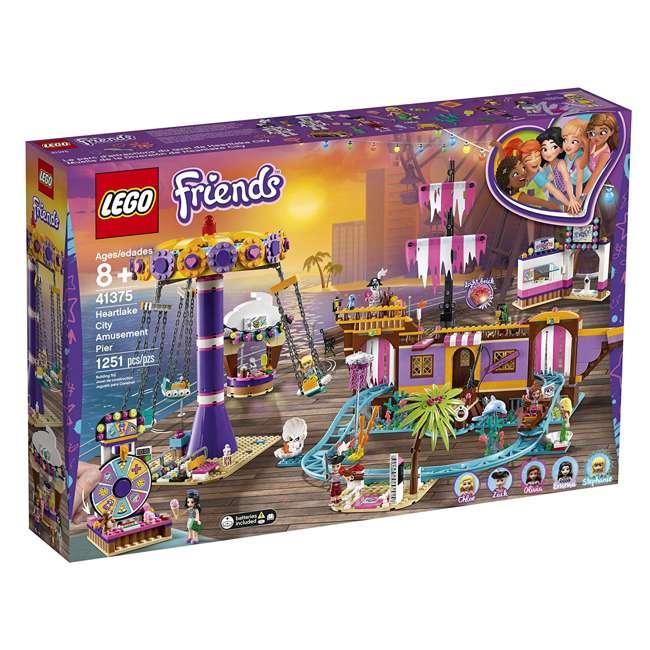 6251658 LEGO Friends 41375 Heartlake City Amusement Pier Block Building Set w/ 5 Figures 3