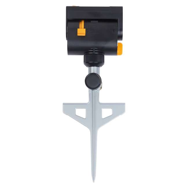 MEL-4065 Melnor MiniMax Turbo Oscillating Sprinkler on Step-Spike, Black