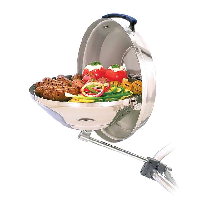 A10-104 Magma Products Marine Kettle Boat BBQ Barbecue Charcoal Grill, Original Size