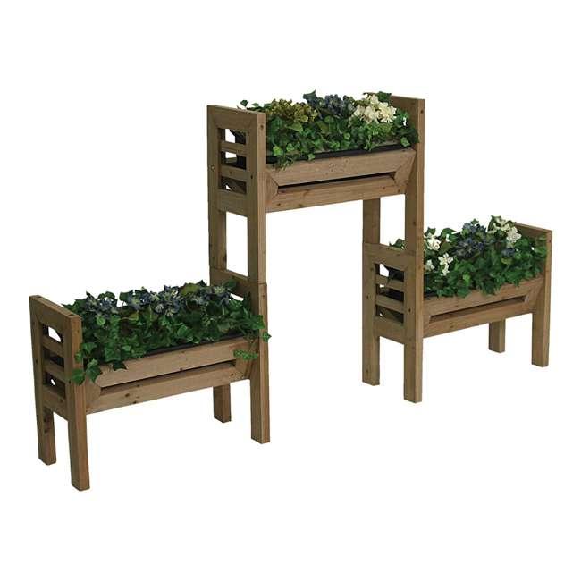 ALG-120 Algreen Stack'n Garden 3-Tier Modular Planters