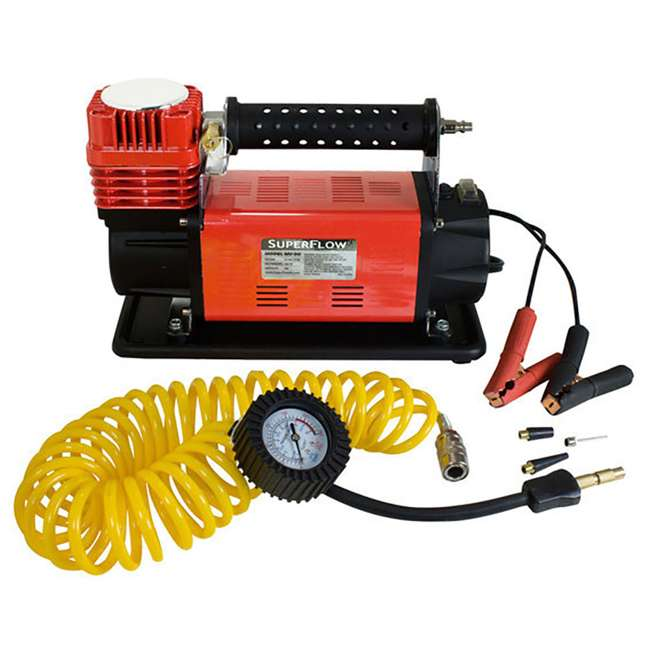 MV-90 SuperFlow MV-90 Portable 45-Amp Battery-Powered Air Compressor (2 Pack) 1