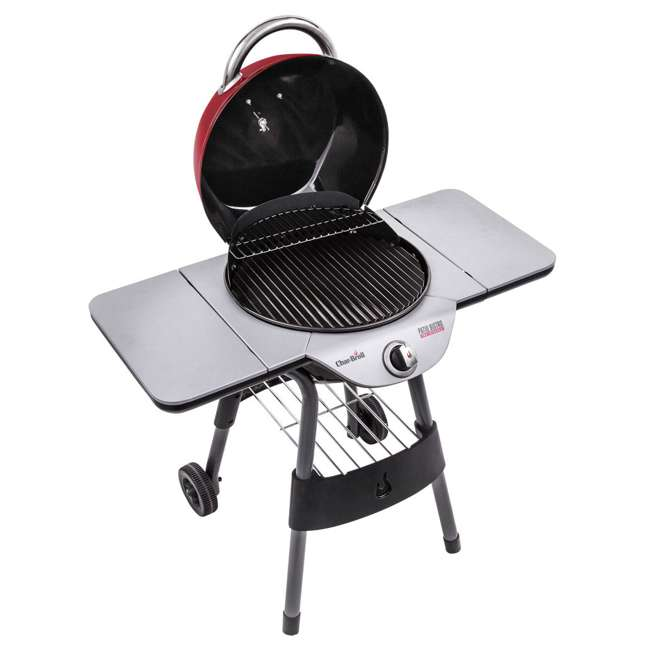 17602047-U-C Char Broil BBQ TRU Infrared Electric Patio Bistro Barbecue Grill Red (For Parts) 1