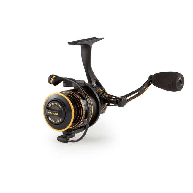 CLA5000 Penn CLA 5000 Clash Metal Saltwater Front Drag Spinning Fishing Reel, Black Gold