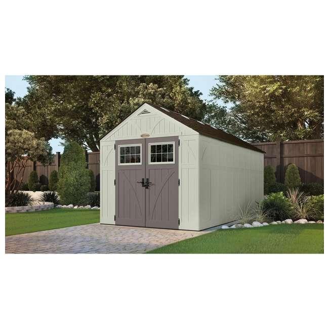 BMS8160 883 cu. ft. Tremont® 8x16 Storage Shed