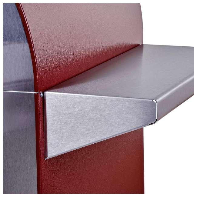 FX4PIZ-LRAM Alfa FX4PIZ-LRAM 4 Pizze Outdoor Stainless Steel Wood Fired Pizza Oven, Red  2