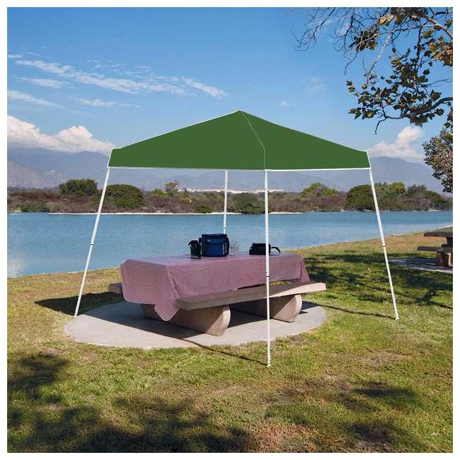 ZSBP10INSTGR Z-Shade Instant 10 x 10-Foot Taffeta Outdoor Canopy, Green 1