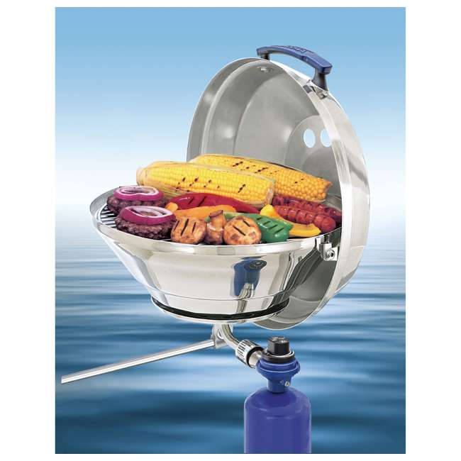 A10-205 Magma A10-205 15 Inch Marine Kettle Gas Grill w/ Adjustable Control Valve, Steel 2