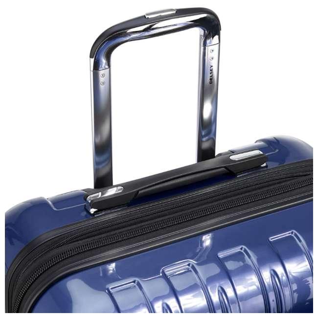 "07647BD DELSEY Paris Aero 25"" Lightweight Hardside Expandable Rolling Travel Bag, Blue 5"