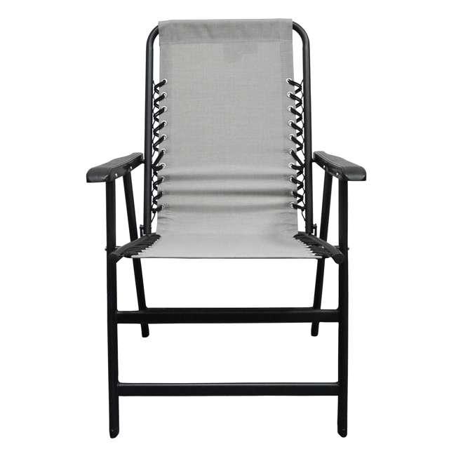 CVAN80012000122-2PK Caravan Canopy Infinity Suspension Folding Chair, Gray (2 Pack) 2