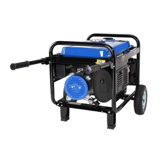 XP4400E + XPSGC DuroMax 4400 Watt RV Grade Gas Generator & Generator Cover, Black 6