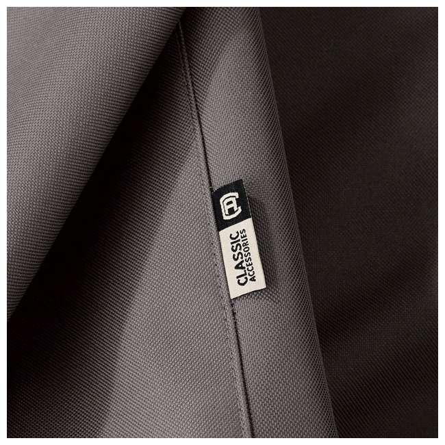 55-163-045101-EC-U-A Classic Accessories Ravenna Patio Chaise Lounge Cover, Dark Taupe (Open Box) 9