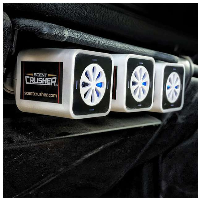 4 x SC59902-CP Scent Crusher Ozone Go Vehicle Odor Eliminator  (4 Pack) 5