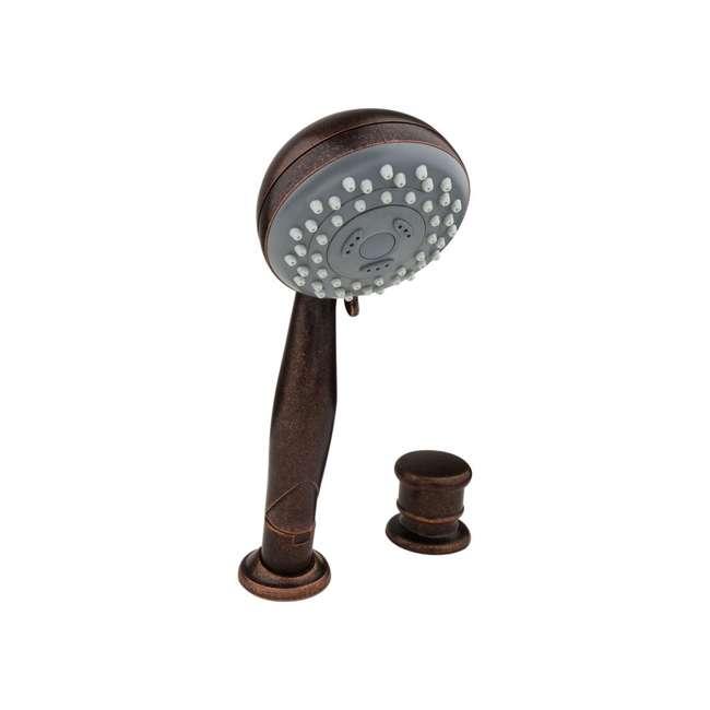 G15407U Pfister Roman Tub Handheld Shower & Diverter, Rustic Bronze