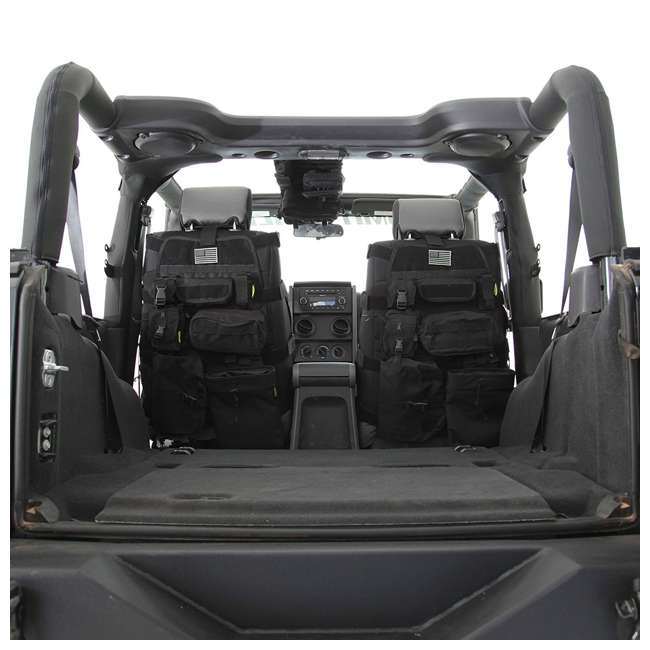 5661001-SMITTYBILT Smittybilt GEAR 1976-2013 Jeep Storage Bag Front Seat Cover 4