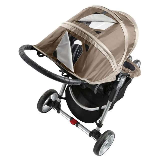 1959183 Baby Jogger City Mini Folding Travel Stroller, Sand/Stone 3