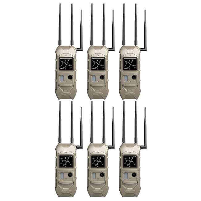 6 x K-5789 Cuddeback K-5789 CuddeLink 20MP Dual Cell Verizon LTE Plan Trail Camera (6 Pack)