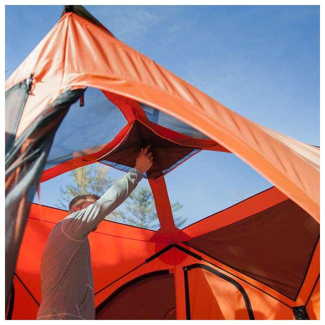 GAZL-22272 Gazelle T4 94 x 94-Inch 4-Person Pop-Up Camping Hub Tent 5