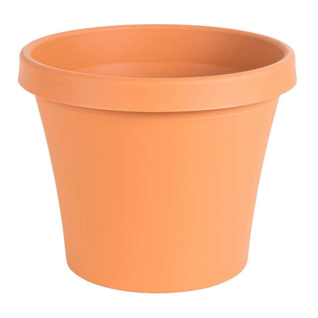 5 x 50012C Bloem Terra Gardening Flower 12 Inch Resin Pot Planter, Terra Cotta (5 Pack) 1