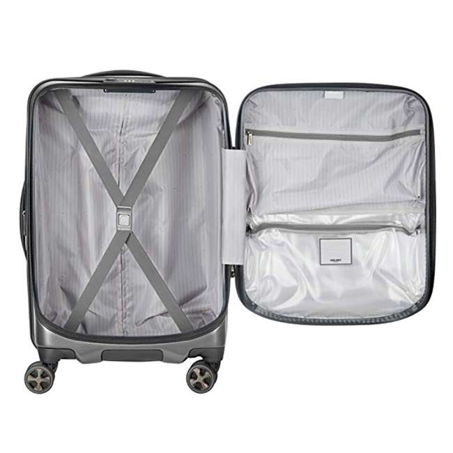 """40207980511 DELSEY Paris Cruise Lite 2.0 20"""" Hardside Expandable Carry On Travel Case, Gray 2"""