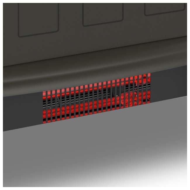YH-20-2 Lifesmart YH-20-2 1100 Watt Traditional Electric Infrared Heater Stove, Black 2