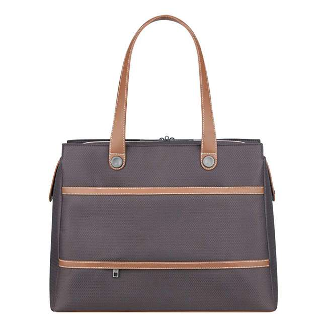 40177435006 DELSEY Paris Women's Chatelet Designer Soft Air Travel Shoulder Bag, Chocolate 3