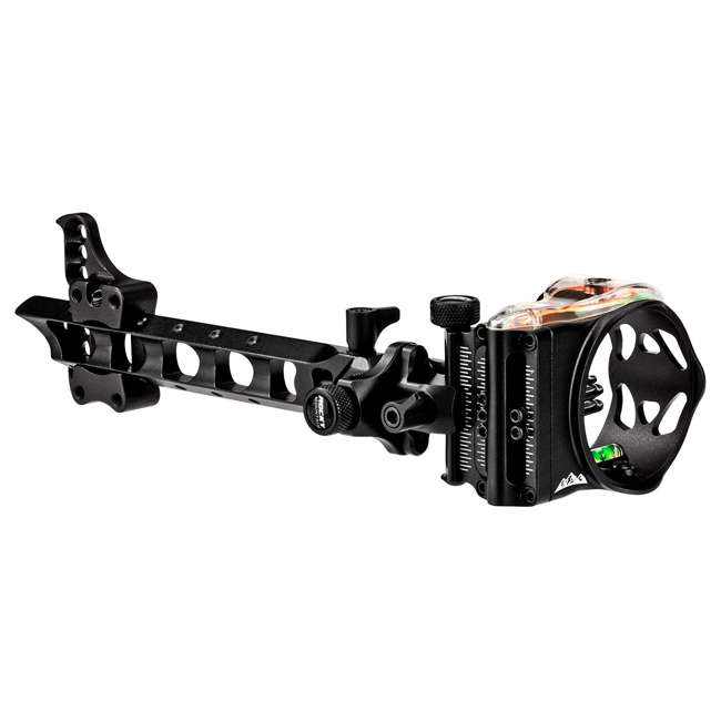 RM56101 Rocky Mountain 56101 Right Hand 5 Pin Dovetail Mount Archery Bow Hunting Sight