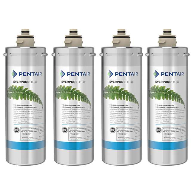 4 x EV925268 Everpure H-54 Water Treatment Filter Cartridge (4 Pack)