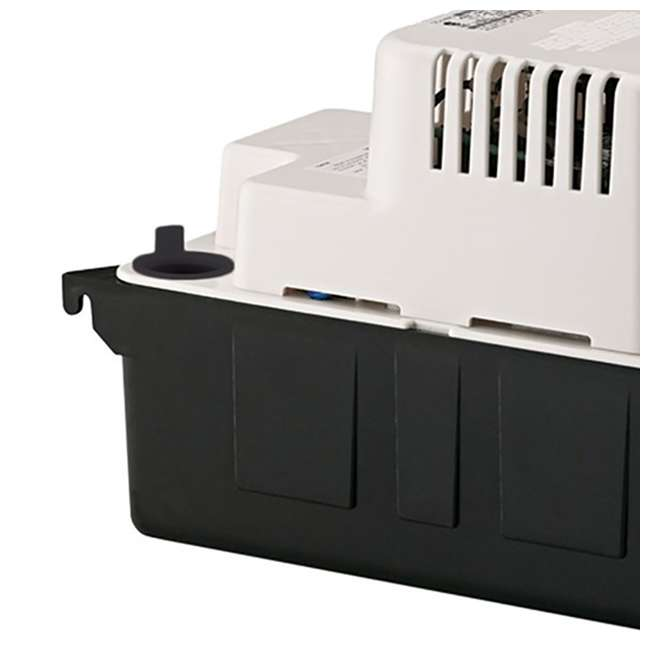 LG-554401 Little Giant VCMA-15UL Series 1/50 HP 1/2 Gallon Tank Condensate Removal Pump 3