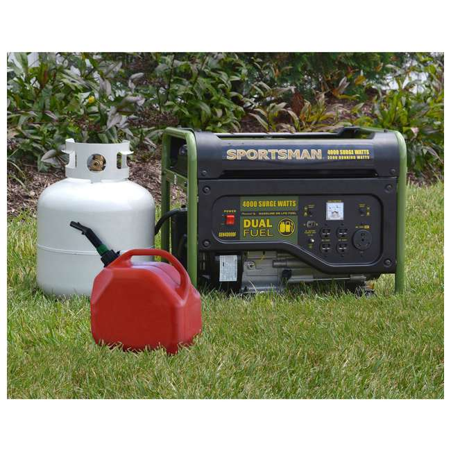 BFT-GEN4000DF Sportsman GEN2000DF 4000 Watt Portable Dual Fuel Generator, Black 2