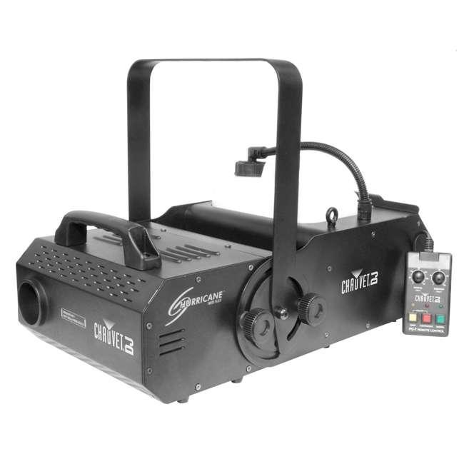H1800FLEX + FJU + FC-W + MINISTROBE-LED Chauvet DJ Hurricane Flex Fog Machine w/ Fog Juice,Wireless Remote, Strobe Light 3