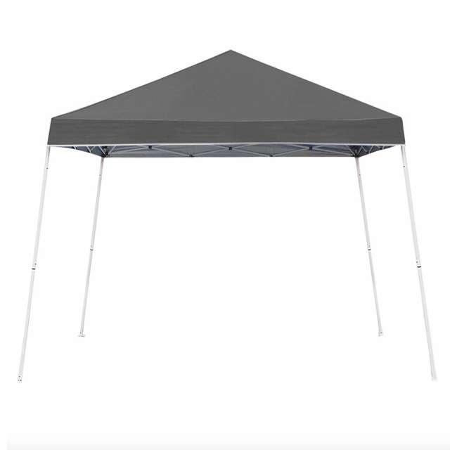 ZSBP10INSTGY 10'x10' Slant leg instant canopy Gray
