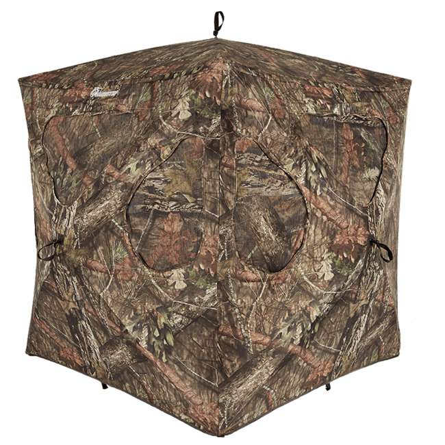 AMEBL3002-U-A Ameristep Durashell Plus Shell Silent Brickhouse Hunting Ground Blind (Open Box)