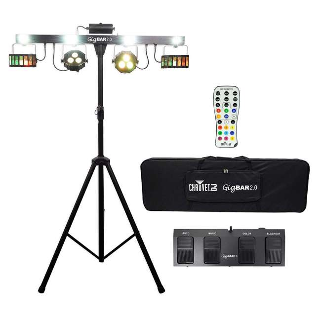 GIGBAR2-OB Chauvet DJ GigBAR 2 Light System with IRC Remote and Foot Control(Open Box)