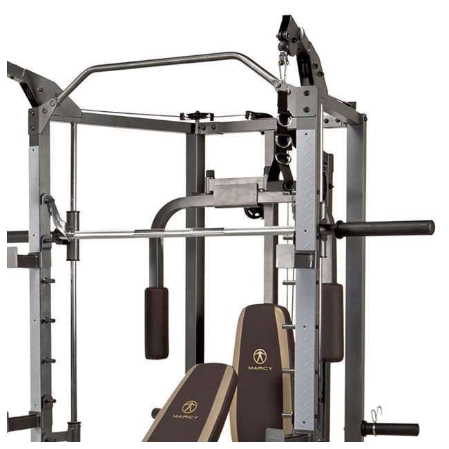 SM-4008 Marcy Combo Smith Strength Home Gym Machine 3