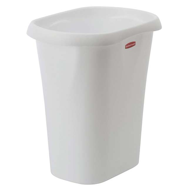 1835855 Rubbermaid 3 Gallon Plastic Home/Office Wastebasket Trash Can or Recycling Bin